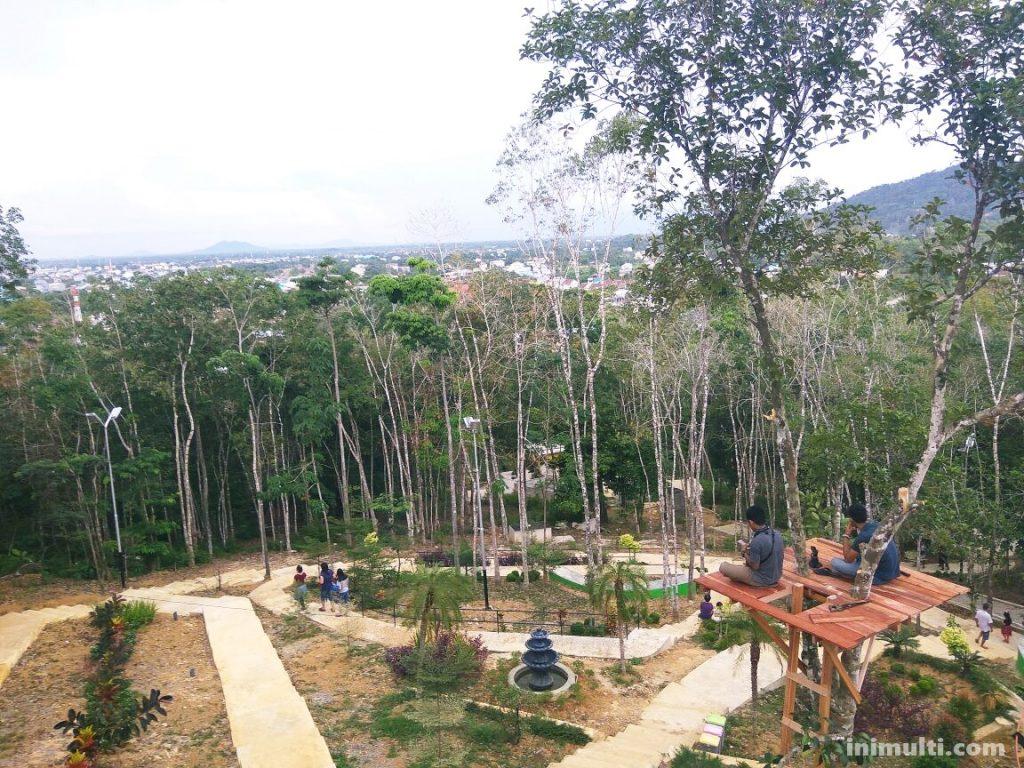 wisata taman gunung sari