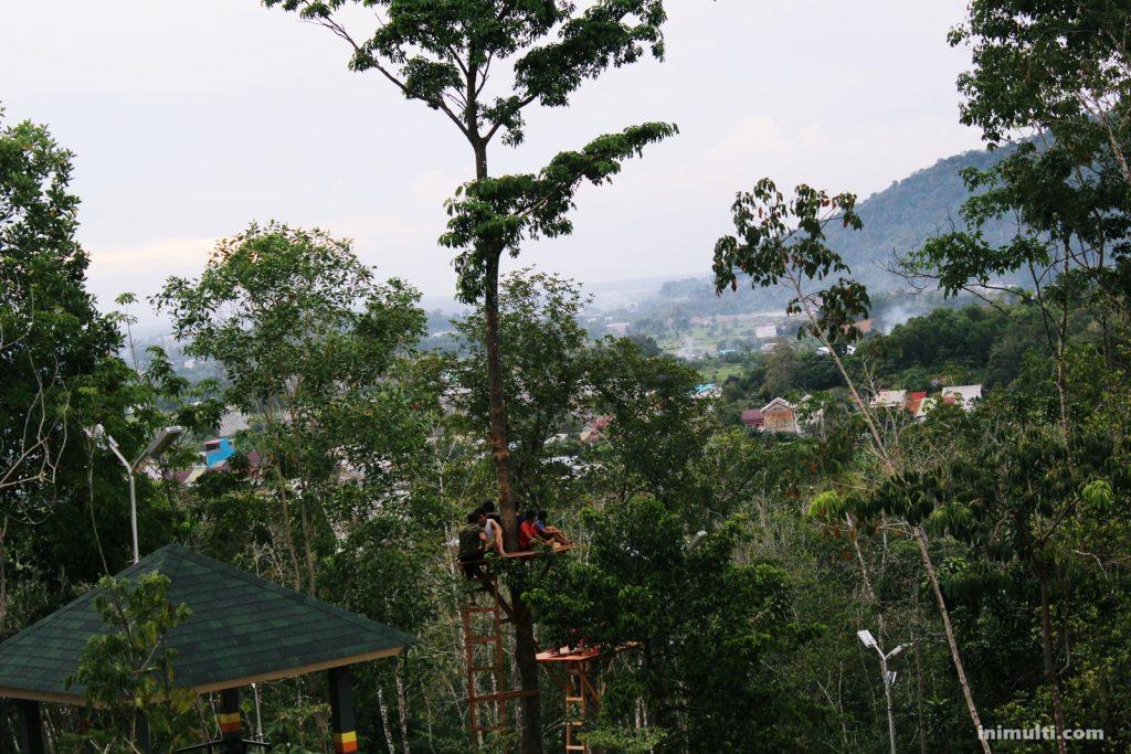 Rumah Pohon Gunung Sari Singkawang
