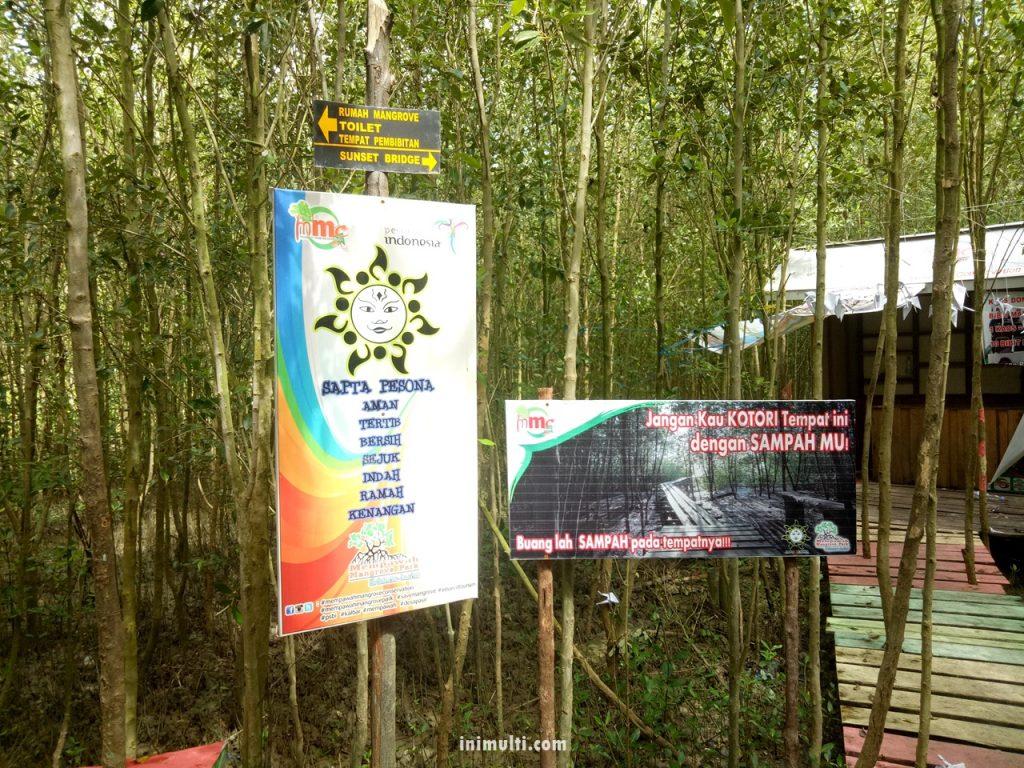 fasilitas mempawah mangrove park